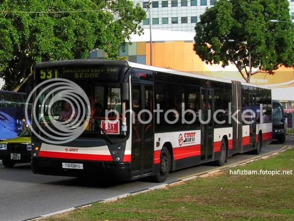 TIB1081S on Premium 531 along Temasek Avenue
