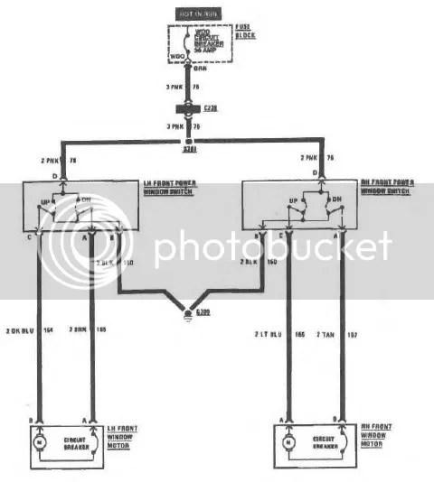 wiring diagram power window kit