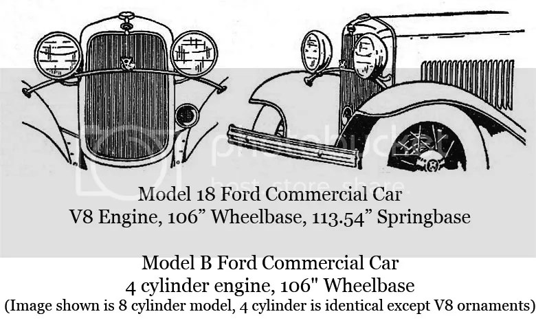 1932 Ford Commercial Car Identification Information
