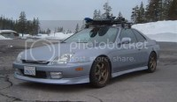 Pic of a 5th gen with a roof rack? - Honda-Tech - Honda ...