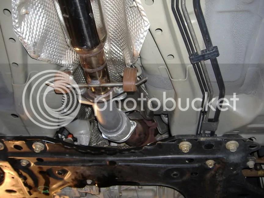 2005 Ford escape exhaust flex pipe