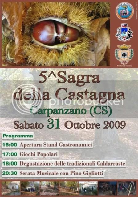 5th Annual Sagra Della Castagna