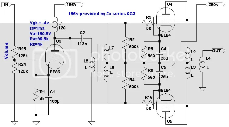 Request for suggestions. Akai M8 mono amp schematic