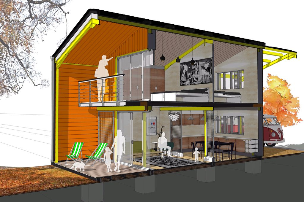 Affordable Eco House Plans Free Home Design