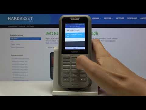 How to Clear Browser Data in NOKIA 800 Tough – Delete Browser History