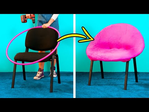 HOME DECOR || 27 Cheap Furniture DIYs, Home Repair Hacks, Reuse And Recycle Decor Ideas