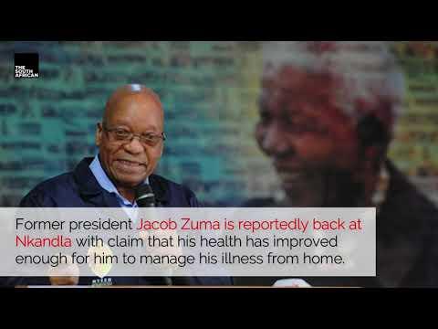 Jacob Zuma reportedly back in Nkandla