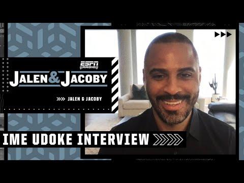 Celtics HC Ime Udoka discusses plans to make Jayson Tatum & Jaylen Brown playmakers | Jalen & Jacoby