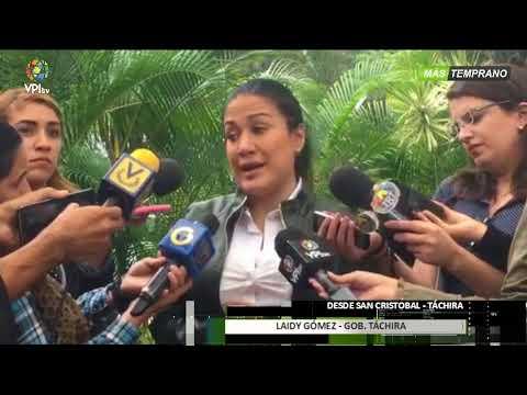 Venezuela- Laidy Gómez ofrece un balance sobre la situación en Táchira -VPItv