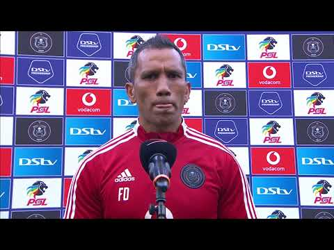 DStv Premiership | Orlando Pirates v Stellenbosch FC | Interview with Fadlu Davids