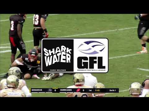 Sharkwater GFL 2021: ReLive! Halbfinale: Dresden Monarchs - Saarland Hurricanes