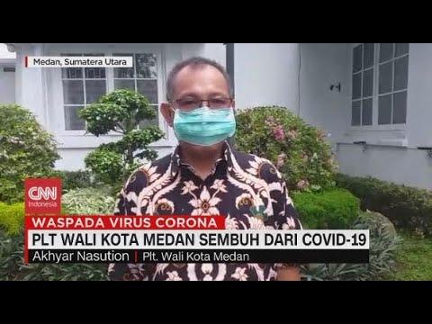 PLT Wali Kota Medan Sembuh dari Covid-19
