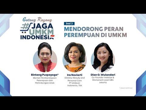 Mendorong Peran Perempuan di UMKM | Katadata Indonesia X Unilever