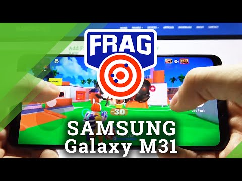 Check Gaming Performance Test on Samsung Galaxy M31 - FRAG Pro Shooter Gameplay