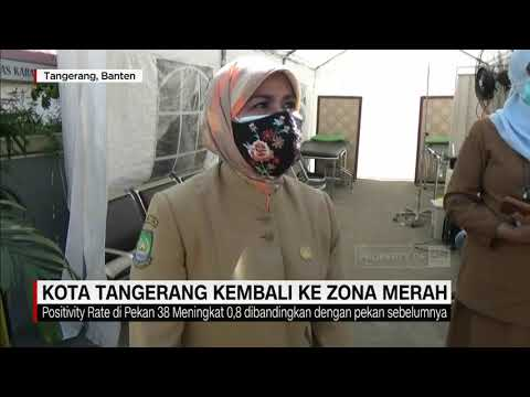 Kota Tangerang Kembali Menjadi Zona Merah