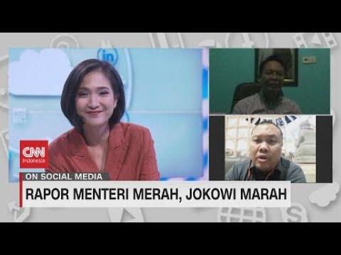 Rapor Menteri Merah, Jokowi Marah