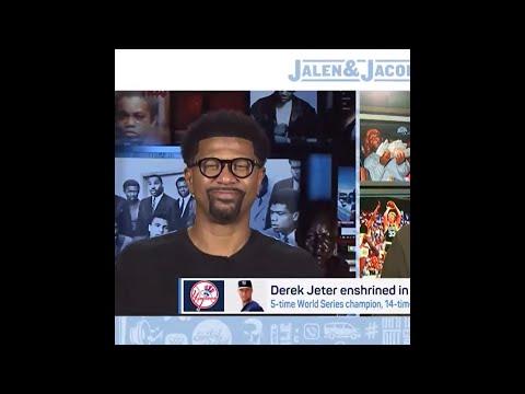 Jalen Rose reflects on Hall of Famer Derek Jeter's legacy   #Shorts