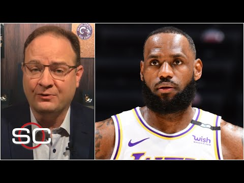LeBron James out the next two games for Lakers due to ankle discomfort   SportsCenter