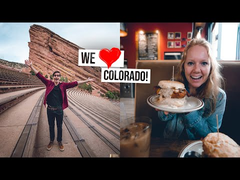 The PERFECT Weekend in Denver! Mile-High Biscuits, Red Rocks, Colorado-Style Pizza, & More! 🍕🏔