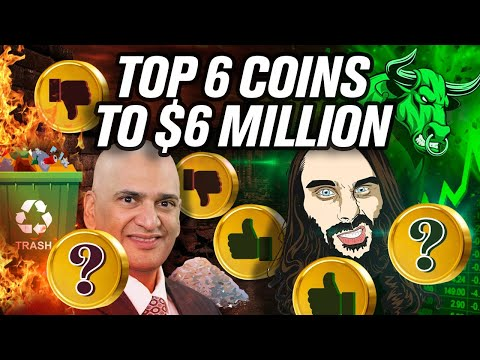 Teeka Tyler's Top 6 Coins to $6 Million Dollars (Tiwari👎)