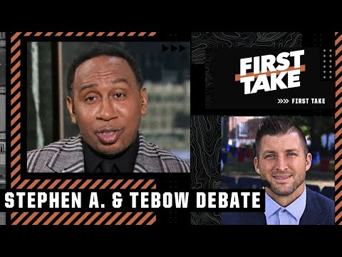 Stephen A. & Tim Tebow debate: Would you rather have Derrick Henry or Patrick Mahomes?   First Take