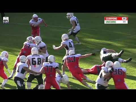 SharkWater GFL 2021: Stuttgart Scorpions - Schwäbisch Hall Unicorns
