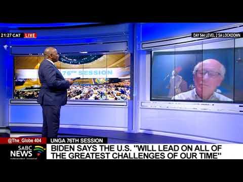 US President Joe Biden calls for global unity against common threats: Prof. John Stremlau