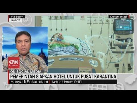 Pemerintah Siapkan Hotel untuk Pusat Karantina