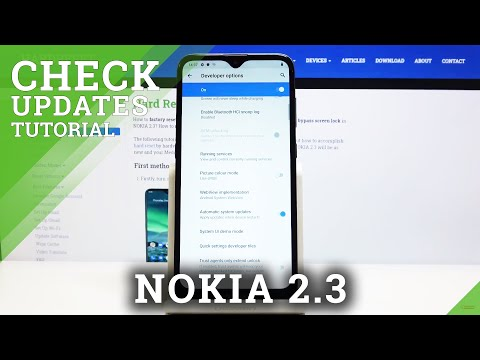 How to Activate Automatic System Updates in NOKIA 2.3 - Manage Android Updates
