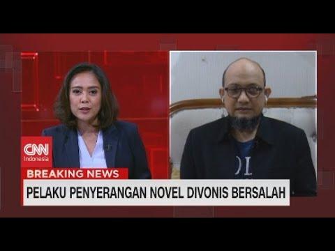 Novel Baswedan: Persidangan Ini Persidangan Sandiwara