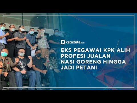 Eks Pegawai KPK Alih Profesi Jualan Nasi Goreng Hingga Jadi Petani   Katadata Indonesia