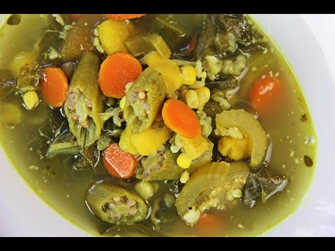 Vegetable Wild Rice Soup (#vegan #ital)   Caribbeanpot.com