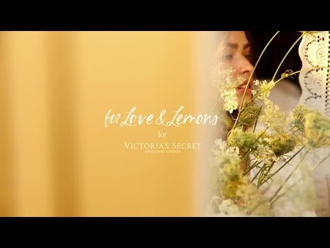 For Love & Lemons for VS: Fall 2020   Victoria's Secret