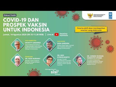 Diskusi Publik: Covid-19 dan Prospek Vaksin untuk Indonesia