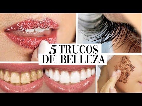 5 TRUCOS de BELLEZA que NUNCA NADIE te dijo *PARA MUJERES*