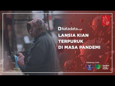 Lansia Kian Terpuruk di Masa Pandemi   Katadata Indonesia