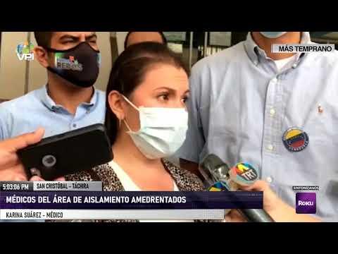 Táchira - Médicos denunciaron agresiones por parte de agentes leales a Maduro - VPItv