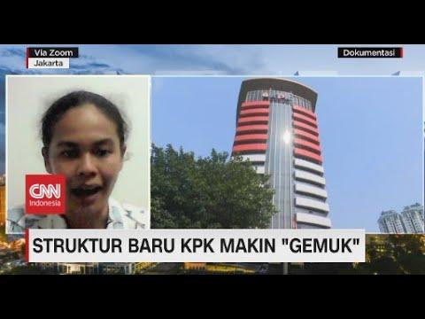 "Struktur Baru di KPK Makin ""Gemuk"""