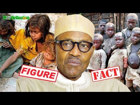 Dull President Buhari Confuses Fact For Figures As Nigeria Overtakes India As Poverty Capital