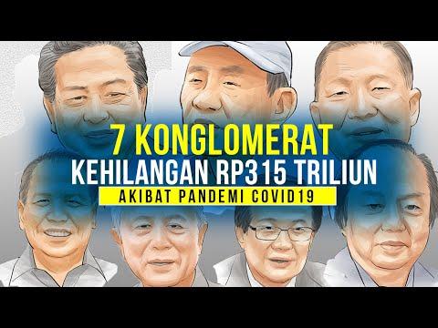 7 Konglomerat Kehilangan Rp315 Triliun, Siapa Aja?