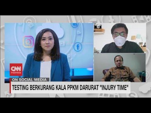 Testing Berkurang Kala PPKM Darurat Injury Time