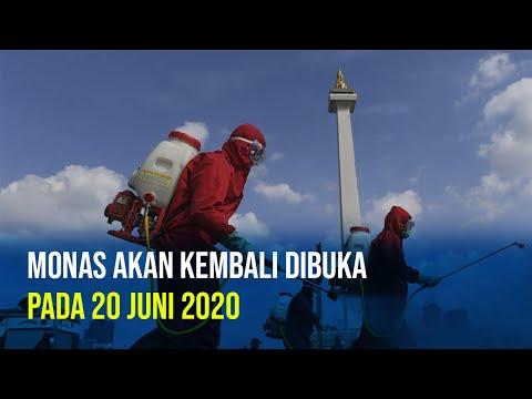 Monas Siap Layani Pengunjung per 20 Juni 2020