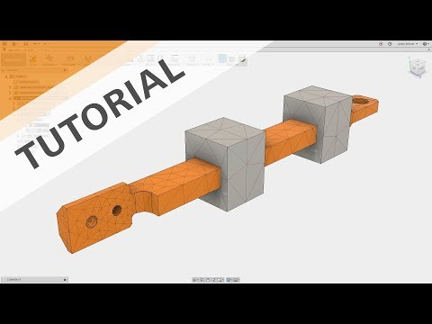 Linear Static Simulation Tutorial