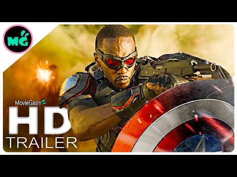 THE FALCON AND THE WINTER SOLDIER Trailer TEASER (2020) Disney+