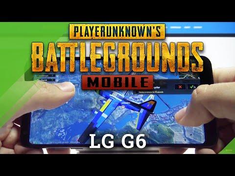 LG G6 PubG GAMEPLAY - Test of performance