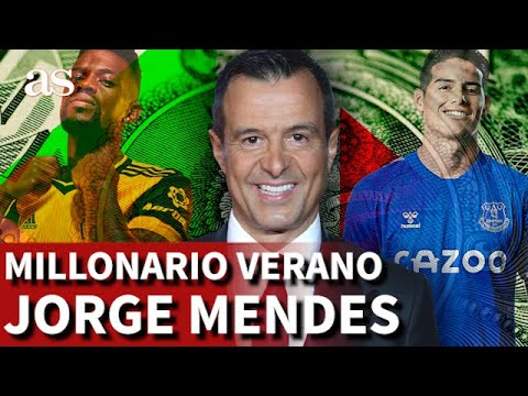 JORGE MENDES, 'El Superagente': su millonario verano | Diario AS