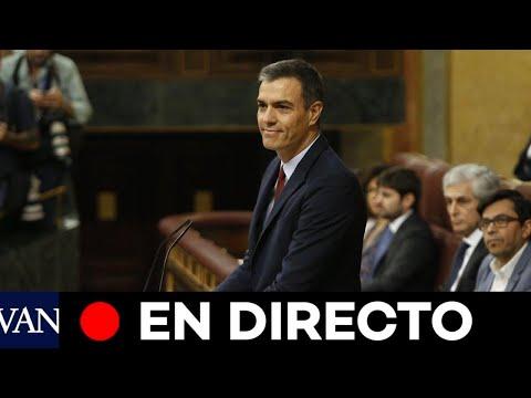DIRECTO: Pedro Sánchez comparece en el pleno del Congreso