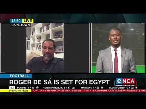 Football | Roger De Sá is set for Egypt