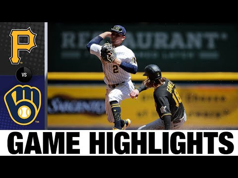 Pirates vs. Brewers Game Highlights (6/13/21) | MLB Highlights