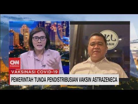 Pemerintah Tunda Pendistribusian Vaksin Astrazeneca